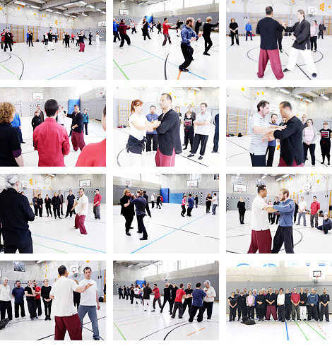 Taijiquan-Workshop mit Meister Gianfranco Pace in München